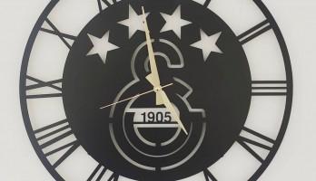thumb Galatasaray Amblem Metal Duvar Saati