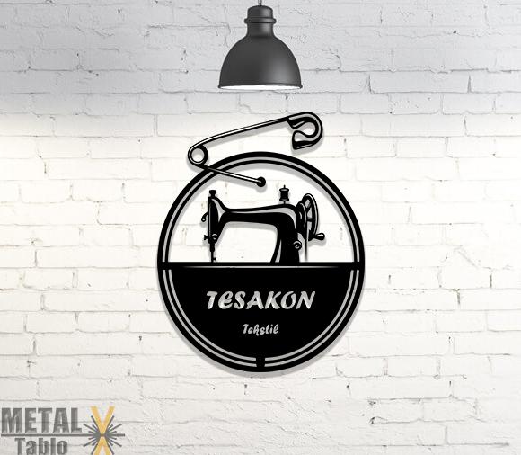 Tekstil Firmalarına Özel Metal Tablo