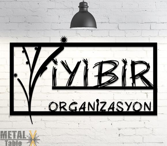 Özel Tasarım Kişiye Özel Logo Metal Tablo