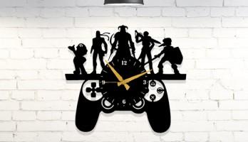 PlayStation Kolu Metal Duvar Saati