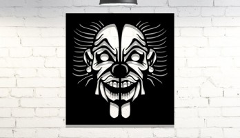Joker Lazer Kesim Metal Tablo