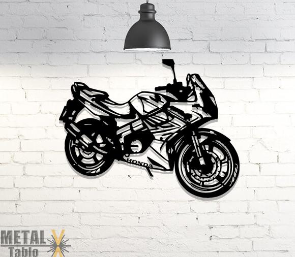 Honda Cbr Lazer Kesim Metal Tablo